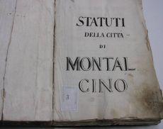 Statuti della Città di Montalcino