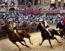Palio di Siena - foto d'archivio