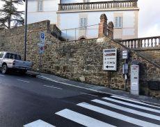 Il parchimetro in Viale Roma