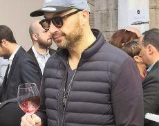 Joe Bastianich ai Chiostri di Sant'Agostino in occasione di Benvenuto Brunello