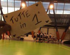 Le ragazze della Under 12 della Libertas Montalcino hanno vinto il campionato provinciale