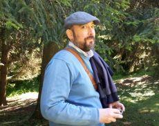 Riccardo Boccardi, 44 anni, amministrativo, grafico editoriale e microscrittore montalcinese