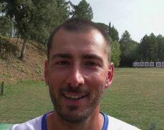 Il campione olimpico Mauro Nespoli al campo di tiro di Montalcino