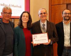 Il premio speciale Slow Wine al Paradiso di Manfredi