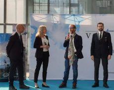 La Ceo di Banfi Vintners Cristina Mariani-May ha ritirato il premio Tastevin dell'Associazione Italiana Sommelier