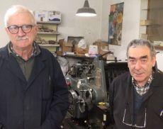 Fabio e Roberto Machetti, titolari della tipografia La Stella