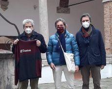 Franco Rossi di Eroica, al centro, insieme a Daniele Petrucci e Stefano di Bello di Opera