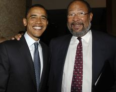 Barack Obama e Richard Parsons