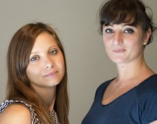 Lo staff di MontalcinoNews: Lisa Tinturini e Viola Pianigiani