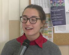 Cecilia Cuglitore, studentessa del Liceo Linguistico Lambruschini di Montalcino