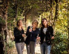 Le sorelle Elvira, Luisa e Giuliana Bortolomiol