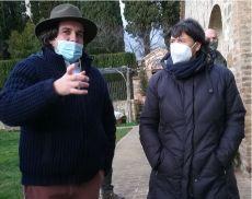 Bernardino Sani e Stefania Saccardi