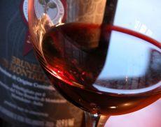 Brunello di Montalcino, Bicchiere e Bottiglia