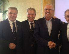 Presidente Ais Maietta, Presidente Emerito Ais Furlan, Presidente del Consorzio del Brunello Bindocci e Fondatore Ais Valentini
