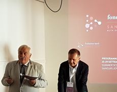 Il Professore Attilio Scienza e Rodolfo Maralli