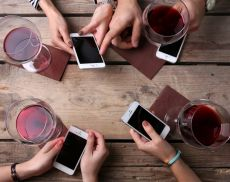 Vino e social network